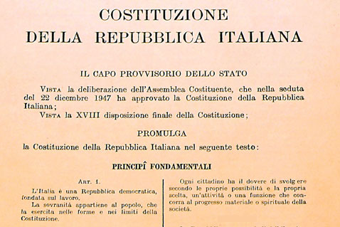 Il pareggio di bilancio in costituzione il silenzio dei for Costituzione parlamento italiano