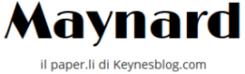 Maynard il paper.li di Keynes Blog
