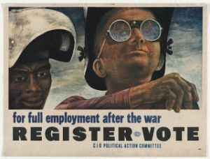 full employment after the war