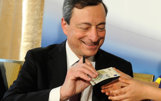 draghi_bce_moneta_5_euro_getty